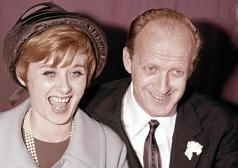 Sandra Mondaini e Raimondo Vianello, il giorno delle nozze nel 1962 -
