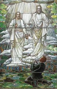 Prima Visione apparvero a Joseph Smith Dio e Gesù Cristo -