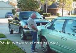 Se la benzina costa troppo ... il rimedio c'è -