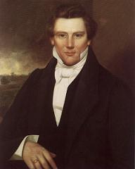 Joseph Smith in un ritratto del 1842 -