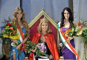 L'Ungheria ha scelto la più bella del 2010 - Dora Gregori -