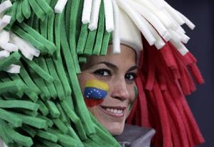 Donna tricolore -