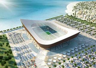 Qatar 2022, il Mondiale del futuro - Il nuovo Al-Shamal Stadium -