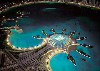 Qatar 2022, il Mondiale del futuro - Il nuovo Doha Port Stadium -