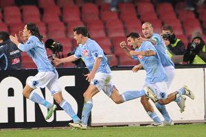 Europa League, Napoli-Steaua 1-0 al 93° -  Risolve san Cavani -