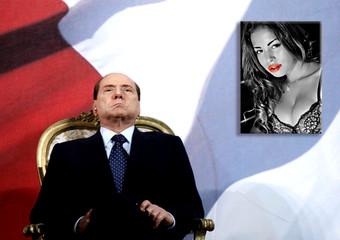 Silvio Berlusconi e Ruby - 2011 -