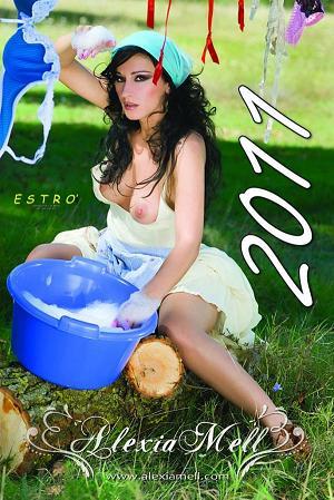 Dimensione Notizia - Calendario 2011 Alexia Mell -
