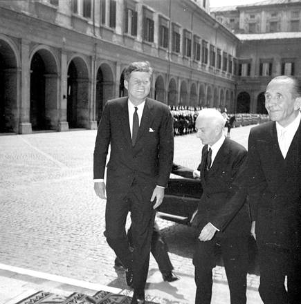50 anni fa Kennedy Presidente Usa a Roma
