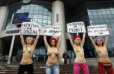 Femen è l'associazione creata a Kiev da giovani universitarie ucraine nel 2008 -