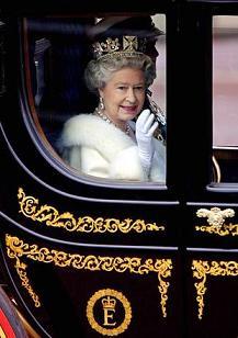 La regina Elisabetta II -
