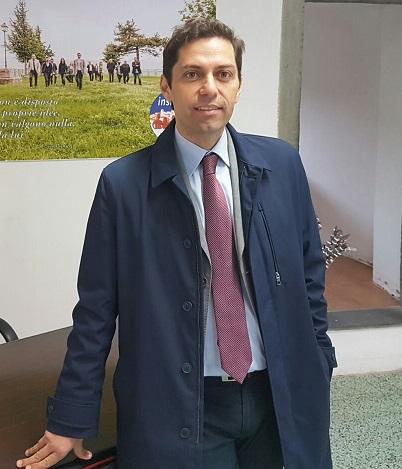 Il sindaco di Agnone (IS) Marcovecchio