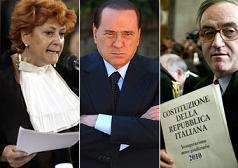 Boccassini, Berlusconi e Bruti Liberati -