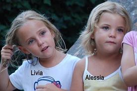 Le gemelline di 6 anni, Alessia e Livia scomparse -