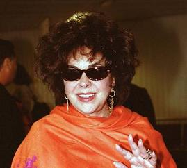 Liz Taylor a Los Angeles -