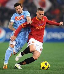 Serie A, Roma-Napoli 0-2 -