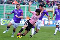 Serie A - Palermo-Fiorentina 2-4 -