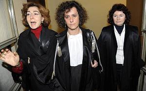 A Milano, giudici del Premier - D'Elia, Turri e De Cristofaro -