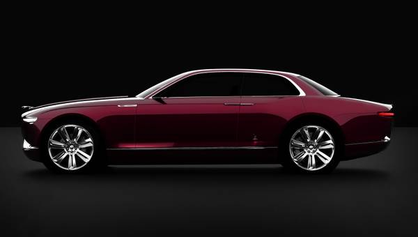 Ginevra proposta per Jaguar - Il concept B99 Bertone -