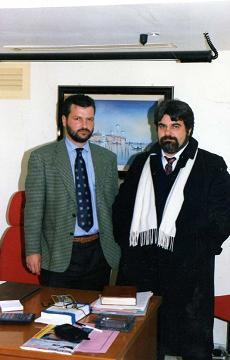 Felice Petrella con Giuseppe Piccolo -