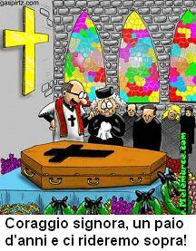 Al funerale -
