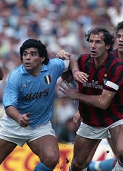 Maradona e Baresi -