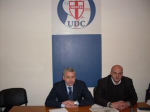Presidente Petrone e vice segretario cittadino UDC di Volla (NA) Luigi De Rosa -