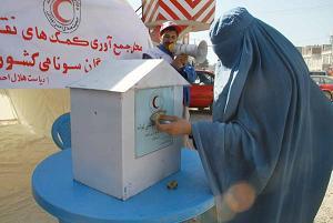 Donazioni per il Giappone anche a Herat, in Afghanistan -