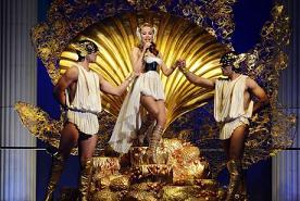 Kylie Minogue, dea della bellezza in Belgio -