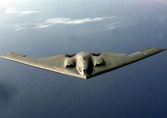 Gli aerei in azione. Uno stealth B-2 Spirit -