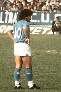 Maradona Napoli 1986 -