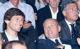 Milan 2007: Leonardo con Berlusconi -