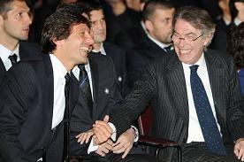 Inter 2010: Leonardo con Moratti -