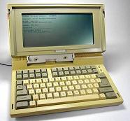 Trent'anni fa il primo computer portatile, pesava 11 chili - Toshiba 1100 (1985) -