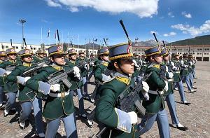 A Coppito (Aq), il giuramento di 440 allievi marescialli Gdf -