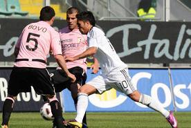 Cesena beffa Palermo, pari nel recupero -