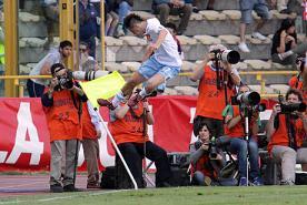 La gioia di Hamsik a Bologna -