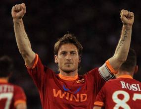 Udinese-Roma 1-2 - Doppietta di Francesco Totti -