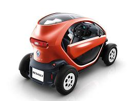 Renault, test in anteprima di Twizy due posti 100% elettrica -