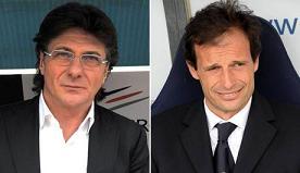 Walter Mazzarri e Massimiliano Allegri -