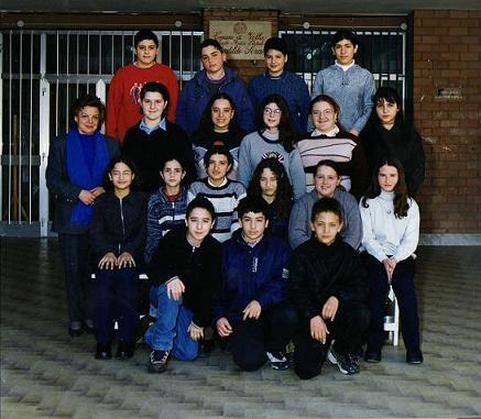 Volla (NA) Domenico Criscito alla scuola media II-L 1999-2000 -