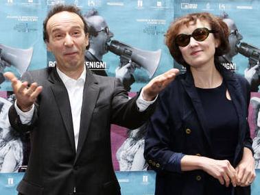 'Bob e Nico', Roberto Benigni e Nicoletta Braschi a Bologna -