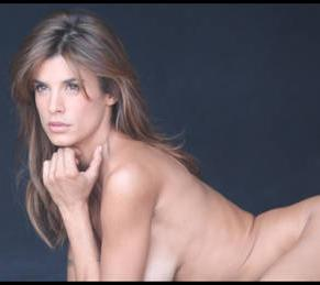 Elisabetta Canalis a nudo per la Peta -