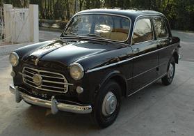 La 1.100 GTv Fiat Bologna edizione del 1957 della Mille Miglia -