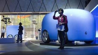 L'auto del futuro in mostra a Pechino -