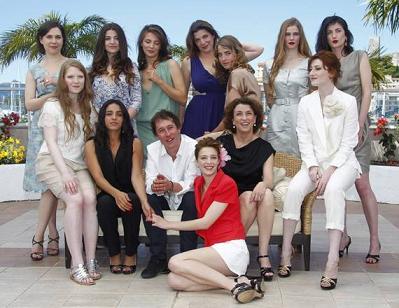 A Cannes, foto di gruppo per il cast di ''L'Apollonide'' -