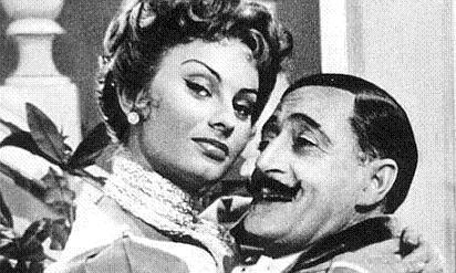 Sofia Loren con TOTO'