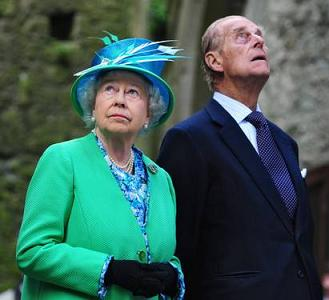 La visita dei reali d'Inghilterra in Irlanda -