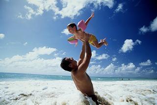 Il primo amore della figlia è il suo papà