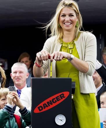 La principessa Maxima d'Olanda inaugura una scuola ad Almere -