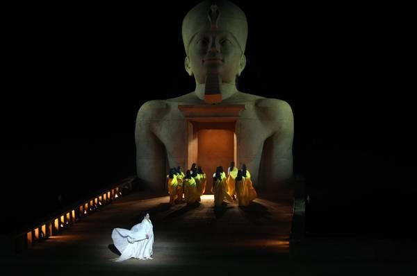Israele, l'Aida di Verdi in scena a Masada -